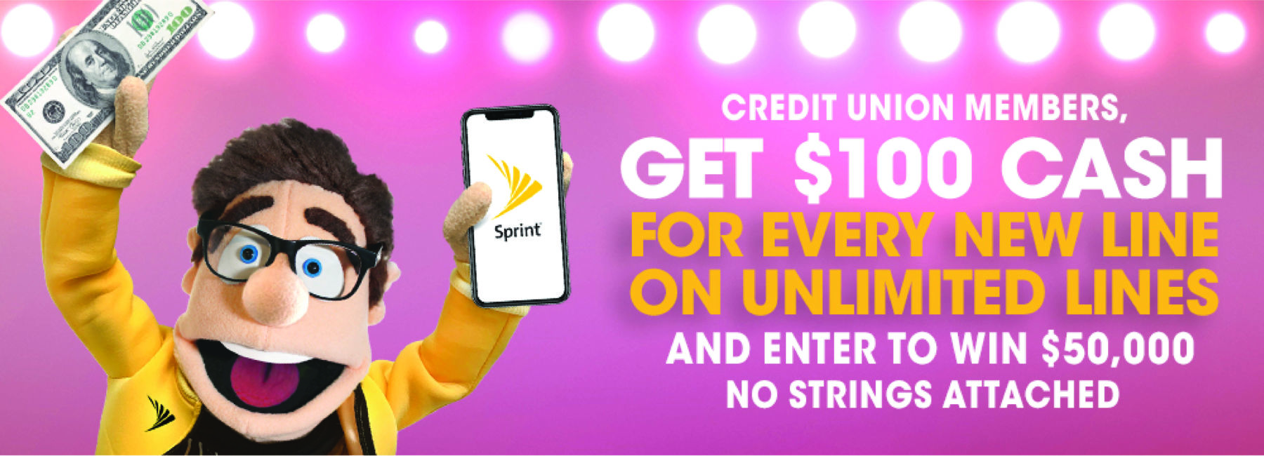 Sprint advertisement